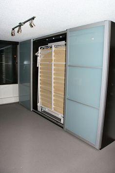 IKEA hack murphy bed: