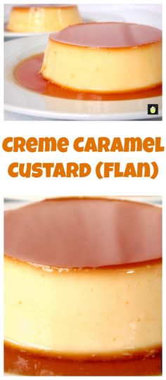 Creme caramel custard a very smooth, silky, velvety dessert, which will want you eating more! Cook Time: 45 m. Creme Caramel, Caramel Flan, Caramel Pudding, Recipe For Caramel Custard, Desserts Caramel, Custard Pudding, Easy Desserts, Delicious Desserts, Dessert Recipes
