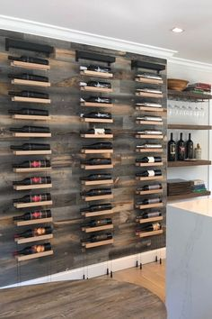 Stunning Diy Wine Storage Racks Design Ideas That You Should Have Wine Rack Design, Wine Cellar Design, Glass Wine Cellar, Wine Cellar Racks, Wine Rack Storage, Wine Rack Wall, Wine Wall Decor, Wine Rack Cabinet, Wall Mounted Wine Racks