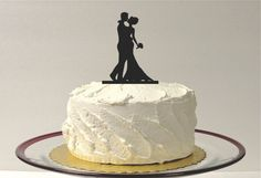Hey, I found this really awesome Etsy listing at https://www.etsy.com/listing/180830074/silhouette-cake-topper-bride-and-groom