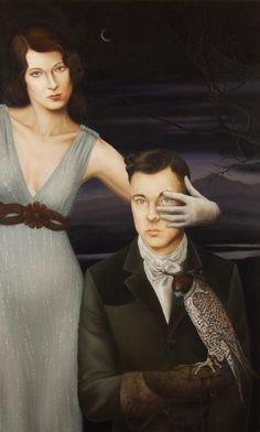 'Jessica and Jared' by American painter Jared Joslin (b.1970).