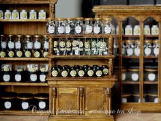 miniature* Tea shop : natural色の生活~handmade家具