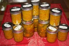 Canning chow chow: Chow chow includes cucumbers, peppers, cabbage, onions, squash, cauliflower and tomatoes.
