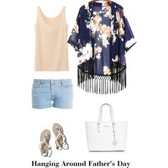 Hanging Around Father's Day by fabulousred on Polyvore featuring polyvore, fashion, style, Uniqlo, Paul & Joe, Abercrombie & Fitch and MICHAEL Michael Kors
