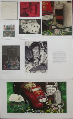 s4 national 5 expressive folio, still life - casino theme