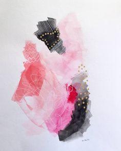 "Saatchi Art Artist Melanie Biehle; Painting, ""Delicate, Not Fragile"" #art"