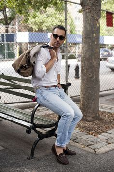 'DAD' JEANS DONE RIGHT #tsbmen