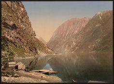 [Naerofjord (i.e., Nærøyfjord) from Gudvangen, Sognefjord, Norway]      Repository: Library of Congress Prints and Photographs Division Washington, D.C. 20540 USA http://hdl.loc.gov/loc.pnp/pp.print