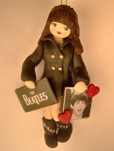 Beatles Fan Ornament - Paul McCartney