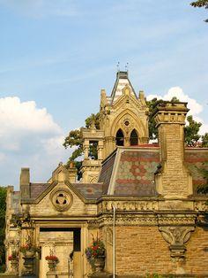 Historic Gate House & Office, Spring Grove Cemetery ... by Professor Nicholas Massa, Cincinnati, OH