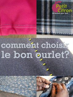 Les ourlets sont la dernière touche portée à un vêtement. Toutefois il ne faut pas les négliger et il faut en ternir compte quand on coupe le tissu, pour s'assurer d'avoir assez de tissu à la fin pour faire l'ourlet au bon niveau. Vous avez sûrement votre propre méthode pour faire les ourlets, une méthode que vous avez éprouvée et avec laquelle vous êtes à l'aise (si vous voulez revoir toutes les méthodes, faites un tour ici!) Comment choisir le bon ourlet? Mais choisir le bon ourlet n'est…