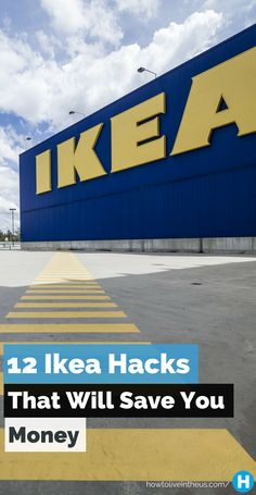 We all love Ikea, just admit it already! Here are 12 awesome Ikea hacks that will make you shopping experience better and save you more money! www.howtoliveintheus.com
