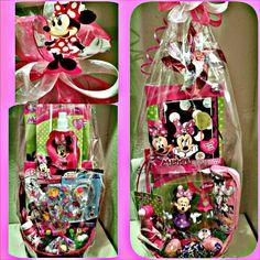 Minnie mouse easter basket bouquet delicatesweetcreations minnie mouse easter basket negle Gallery