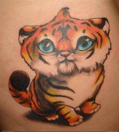 37 Tiger Tattoo Designs and Meanings – PeMotions.Com