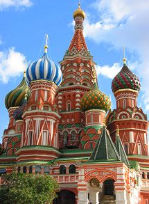 moscow, russia - st basils cathedral - this was the day i got lost in russia; will never ever forget that day