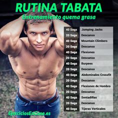 La rutina Tabata definitiva para quemar grasa abdominal