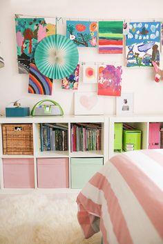 The cutest little girl's room.