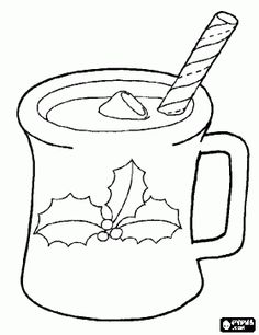 Hot Cocoa Coloring Page . Hot Cocoa Coloring Page . Chocolate Coloring Pages Christmas Hot Chocolate, Christmas Mugs, Christmas Colors, Christmas Ornaments, Printable Coloring Pages, Coloring Pages For Kids, Coloring Books, Kids Coloring, Christmas Ornament Coloring Page