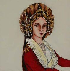anadolu kadın başlıkları - orta  ve anadolu tarihi boyunca türk kadınları çeşitli başlıklar
