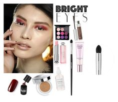 """""""#004 Bright eyes"""" by natalie-didenko ❤ liked on Polyvore featuring beauty, Donna Karan, MAC Cosmetics, Anastasia Beverly Hills, Lancôme, Christian Dior, Estée Lauder and Sephora Collection"""