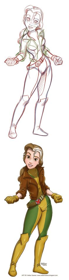 Belle as Picara  <3 <3 <3 dos favoritas unidas! :D