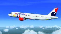 VivaColombia podría eliminar los asientos de sus aviones