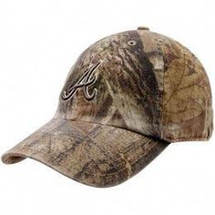 fc2c7c6f5f6c4  47 Brand Atlanta Braves Real Tree Camo Franchise Fitted Hat