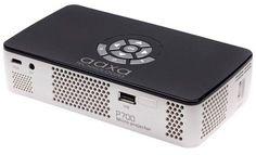 AAXA Technologies® P700 Pro 650-Lumen WXGA LED Pico Projector with Wi-Fi - White/Black (KP-700-03)