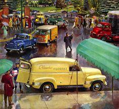 Plan59 :: Classic Truck Art :: Peter Helck, 1950