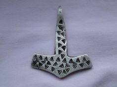 Very Rare Viking Silver Thors Hammer Pendant c. 9th - 10th Century AD | eBay