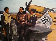 "109E-JG54-HansPhilipp ""surprising colour so early in the war. Possibly page from one of the propaganda mags?"" KB"