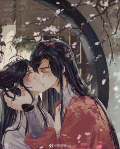 Manga Anime, Anime Art, Handsome Anime Guys, Couple Drawings, Anime Angel, Cute Chibi, Cute Anime Couples, Cute Gay, Celestial