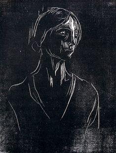 Edvard Munch, woodcut … Mais