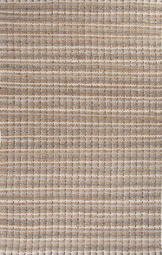 Jaipur AD13 Naturals Stripe Pattern Cotton/ Jute Taupe/Gray Area Rug ( 5X8 ) | Furniture, home decor, wall decor, rugs, lamps, lighting outlet.