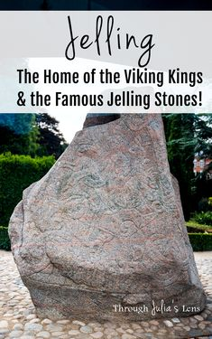 Jelling, Denmark is full of history, and if you want to see one of the famous Viking sites in Denmark, the Jelling Stones are worth the visit! Travel Route, Europe Travel Tips, Italy Travel, European Destination, European Travel, Denmark Travel, Visit Denmark, Best Travel Guides, Worldwide Travel