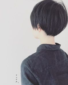 丸っこい #黒髪ショート #ショートヘア #刈り上げ女子 #ジョリー #伸ばし中 #ドライカット #アン #アングル #高岡市美容室 #小さな美容室 #マンツーマンサロン #美容師