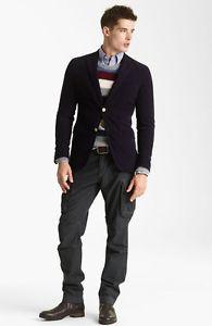 Jacket/Blazer with Cargo Pants.