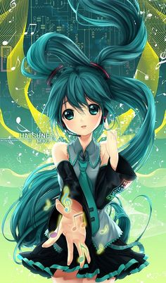 11 best miku neko images on pinterest anime art hatsune miku and