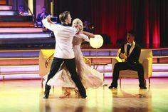 Derek Hough & Kellie Pickler  -  a Len challenge  -  Dancing With the Stars  -  week 5  -  season 16  -  spring 2013  -  celeb  & pro couples dancing side-by-side