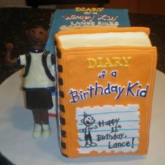 Lance rules - Wimpy Kid cake