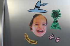 DIY Face Magnets: Video - http://www.pbs.org/parents/crafts-for-kids/diy-face-magnets-video/