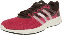 adidas Performance Women's Galaxy 2 W Running Shoe, Equipment Pink/White/Mineral Red, 8 M US