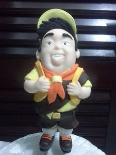 RUSSEL -  PERSONAGEM UP  -  PARTE 1