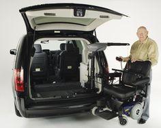 Eureka Solutions - Big Lifter Vehicle conversion Adaptation automobile 1-866-562-2555