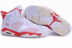 50ce5b7102c18a 30% OFF Men s Nike Air Jordan 6 Shoes White Red  89.98