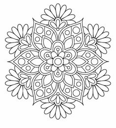 Easy Flower Mandala Coloring Pages. 30 Easy Flower Mandala Coloring Pages. Coloring Books Printable Mandalas Coloring Pages for Mandala Art, Mandalas Drawing, Mandala Coloring Pages, Flower Mandala, Mandala Pattern, Coloring Book Pages, Dot Painting, Printable Coloring Pages