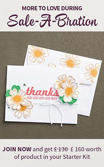 This is the best offer of the year! Get the full lowdown and learn the benefits of joining my #StampinUp team here: http://www.blog.thecraftyowl.co.uk/post/2016/01/05/Sale-A-Bration-and-The-New-Stampin-Up!-2016-Spring-Summer-Catalogue-Is-Here!   #LoveMyJob #BeYourOwnBoss #EarnFreeProduct #JoinStampinUp
