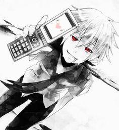 Akise, Mirai Nikki. Anime boy