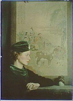 Madelyn Carroll,color autochromes,portrait photographs,Arnold Genthe,1906
