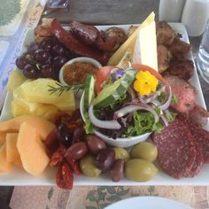 Yummy lunch platter from Rossendale